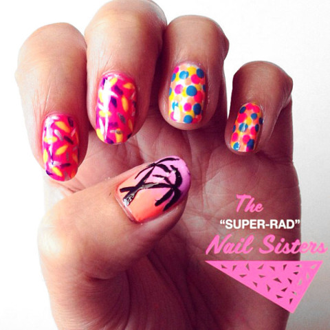 The Super Rad Nail Sisters have an upcoming Nail Art Workshop at Colour Box Studio SUN 8 SEPT 2013
