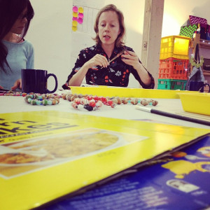 Upcycled Beads or Bowl Workshop @ Colour Box Studio | Footscray | Victoria | Australia