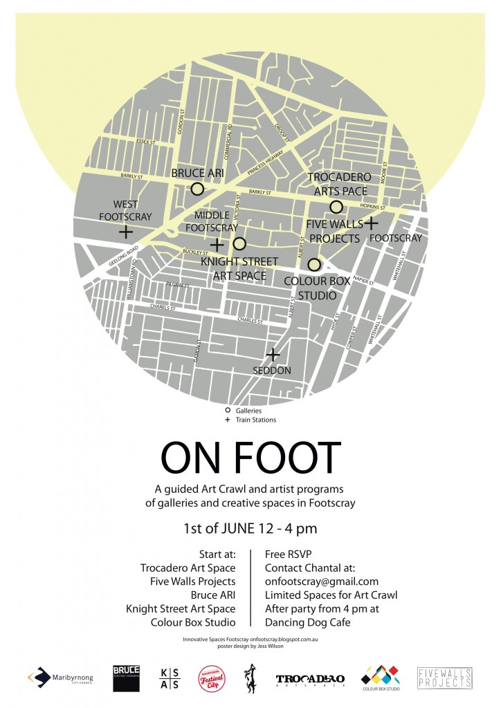 ON FOOT - Art Crawl of Footscray Creative Spaces @ Colour Box Studio | Footscray | Victoria | Australia