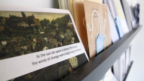 Pop Up Book Shop showcases over 15 artists at Colour Box Studio until 31 August