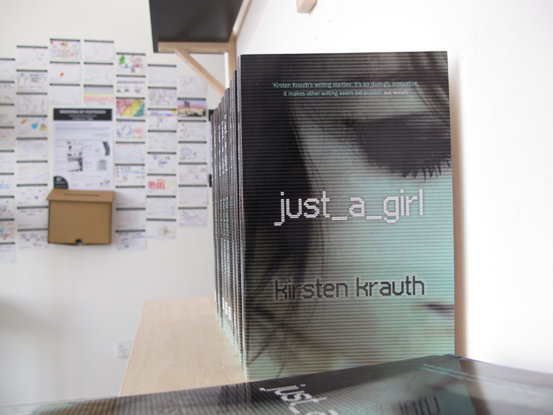 Author Kirsten Krauth chats to Colour Box Studio about her book 'just_a_girl' and more…
