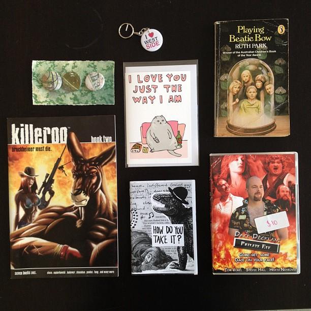 Colour Box Studio Book Shop comics zines dvds