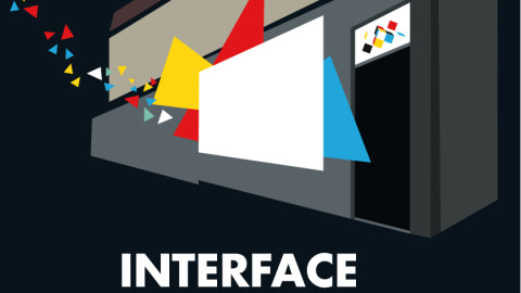 Interface Pop Up Night Projection program at Colour Box Studio