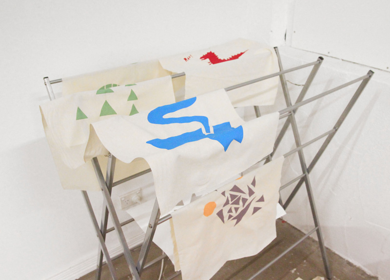 learn to screenprint with Liz Doust at Colour Box Studio