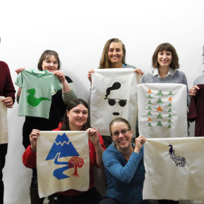 Screen Printing with Liz Doust workshop