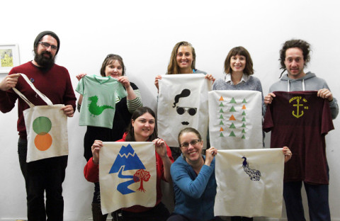 Learn to Screen Print – One Day Short Course with Liz Doust at Colour Box Studio