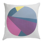 Moonshadow Cushion. Cotton_Linen Blend, 48 x 48cm, $95 by Silly Rabbit