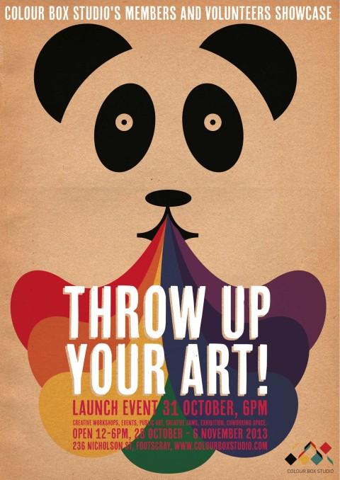 Members & Volunteers Showcase Program & Halloween Event – Throw Up Your Art!