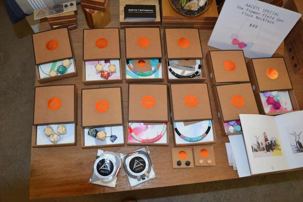 Aacute Jewellery at Colour Box Studio Summer Pop Up Shop