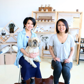Julie and Kelly Tran of Aacute photo by Amie Batalibasi