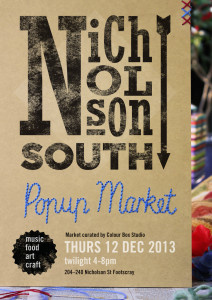 Nicholson South Pop Up Market - Stalls, Music & Food @ Nicholson South Precinct | Footscray | Victoria | Australia