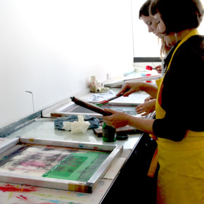 Learn to Screen Print in a Day - Colour Box Studio workshop with Liz Doust
