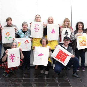 Screen Printing Course with Liz Doust of ambette. Image provided.