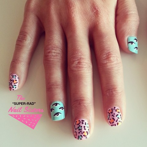 Super Rad Nail Art Workshop June 2014