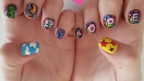 The Super Rad Nail Sisters!