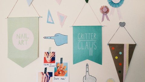 Design + Nails + Art = Critter Claws