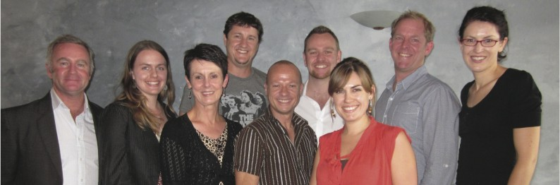 Imogene with Young People in the Arts Australia Board 2012. Image provided.