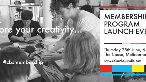 Colour Box Studio Launches Membership Program for Melbourne's Creative Community