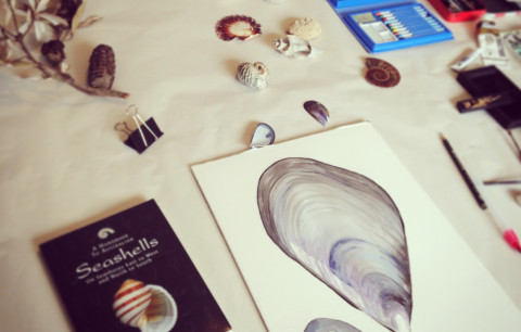 Collect & Create with Watercolours at the Coastal Park