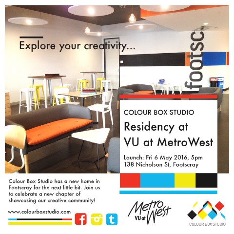 Colour Box Studio Residency at VU at MetroWest