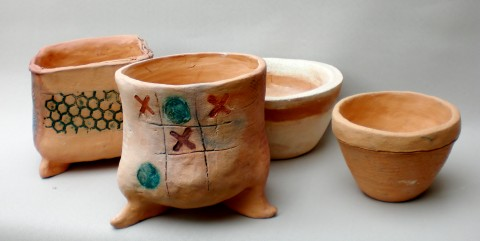 Make Your Own Ceramic Vessels – Clay Handbuilding Workshop – September 2016