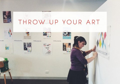 Throw Up Your Art 2016: Colour Box Studio's Annual Showase