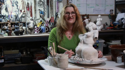 Interview with Sculptor Carolyn Warren-Langford