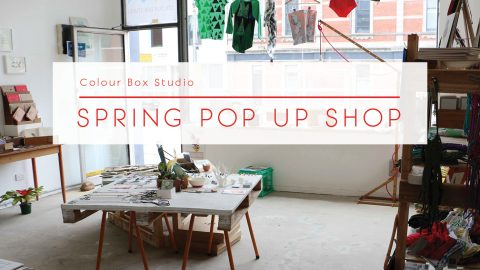 Our BIGGEST Pop Up in Four Years! Colour Box Studio Spring Pop Up Shop is here.