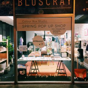 Colour-Box-Studio-Spring-Pop-Up-Shop-At-Night