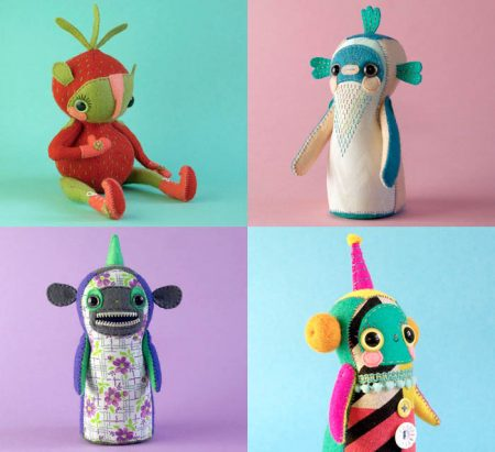 Art dolls by Hannakin