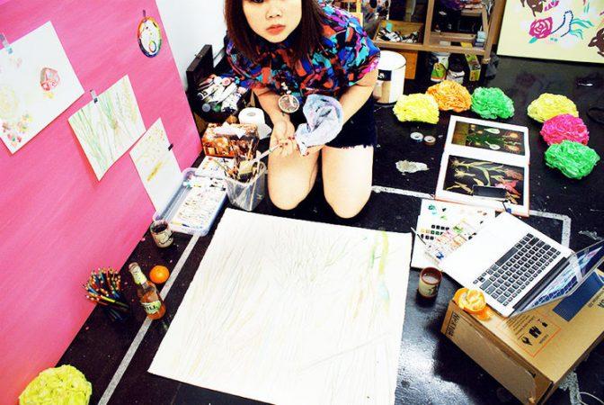 Nani Puspasari is an All-Round Creative Cheerleader // Melbourne Artist Interview